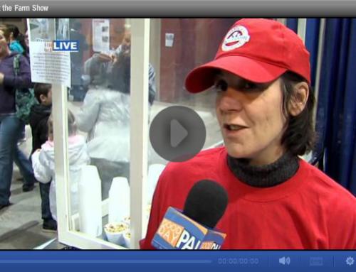 ABC27 Harrisburg interviews Gale at the Farm Show!