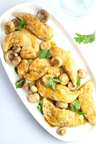 Easy Chicken and Mushrooms