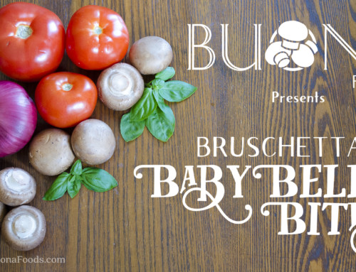 Our First Video: Baby Bella Bruschetta Bites!