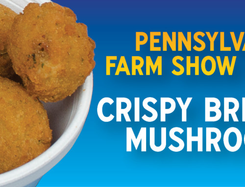 PA Farm Show Breaded Mushrooms!