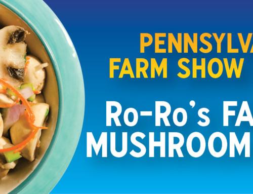 Farm Show Recipe: RoRo's Famous Mushroom Salad