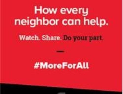 #MoreForAll