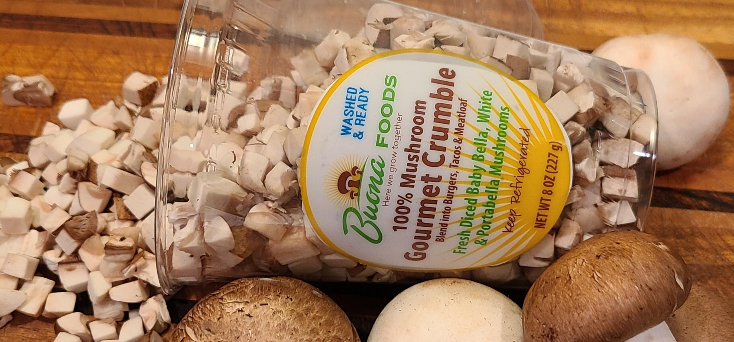 100% Mushroom Gourmet Crumble