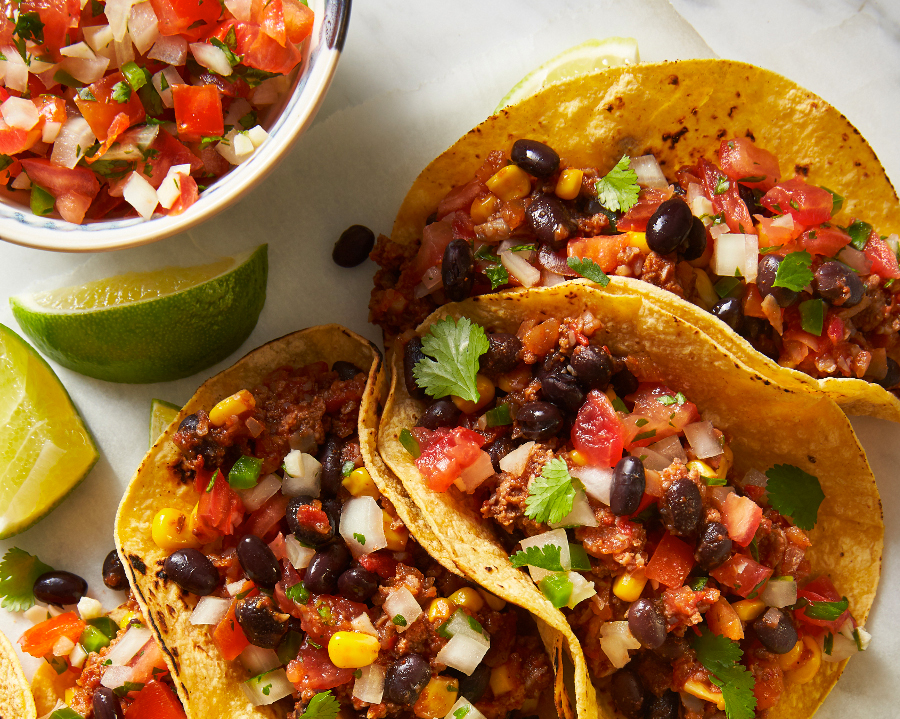 Blended Mexican Tacos
